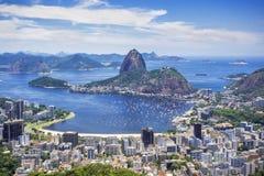 Sugarloaf Mountain in Rio de Janeiro, Brazil Stock Photography