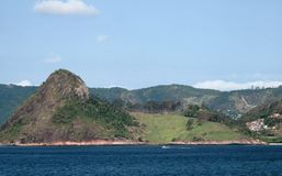 The Sugarloaf Mountain in Rio de Janeiro, Brazil Royalty Free Stock Photo