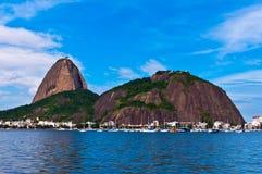 Sugarloaf Mountain in Rio de Janeiro Stock Photography
