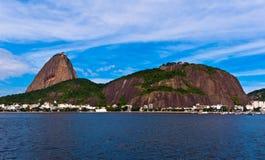 Sugarloaf Mountain in Rio de Janeiro Stock Images