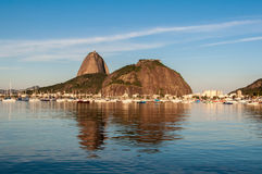 Sugarloaf Mountain in Rio de Janeiro Royalty Free Stock Images