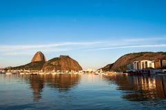 Sugarloaf Mountain in Rio de Janeiro Royalty Free Stock Image