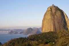 Sugarloaf Mountain in Rio de Janeiro Stock Image