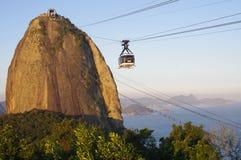 Sugarloaf Mountain in Rio de Janeiro Stock Photos