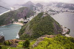 Sugarloaf Mountain - Rio de Janeiro Stock Image