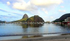Sugarloaf Mountain in Rio Stock Image
