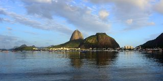Sugarloaf Mountain in Rio Royalty Free Stock Photo