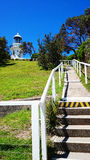 Sugarloaf Point Light @ Seal Rocks, Australia Royalty Free Stock Photos