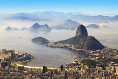 Sugarloaf, Rio de Janeiro, el Brasil Fotos de archivo