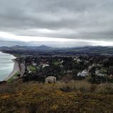 Sugarloaf. View of sugarloaf from killiney hill Dublin Stock Image