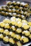 Sugarpalm tårta Arkivbild