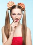 Sugarplum ears Royalty Free Stock Image