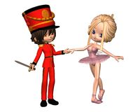 Sugarplum Fairy and Nutcracker Prince Stock Photo