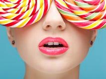 Sugarplum glasses Stock Photography