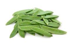 Sugarsnap peas Stock Image