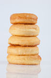 Sugary donut Royalty Free Stock Image