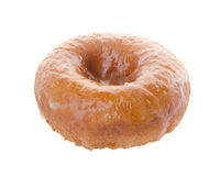 Sugary donut on a background Stock Photos
