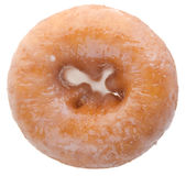 Sugary donut on a background Royalty Free Stock Photo