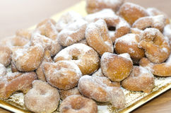 Sugary donuts Stock Photography
