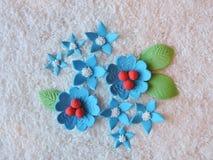 Sugary flowers Stock Image