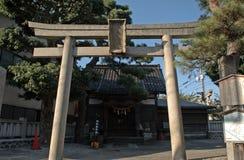 Sugawara shinto shrine, Kanazawa, Japan Royalty Free Stock Photos
