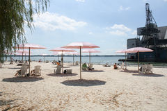 Suger Beach Toronto, Canada Stock Photo