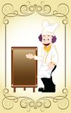 Sugestão do cozinheiro chefe Fotografia de Stock Royalty Free
