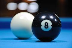 A sugestão e enegrece oito esferas imagem de stock royalty free