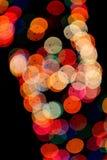 Sugestões das luzes na noite Fotos de Stock Royalty Free