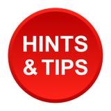 Suggerimenti e punte illustrazione di stock