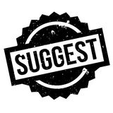 Suggest rubber stamp Royalty Free Stock Image