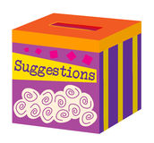 A Suggestion Box Stock Photography