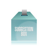 Suggestion box illustration design Royalty Free Stock Photography