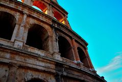 Suggestion of colosseum Royalty Free Stock Photo