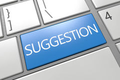 Suggestion Stock Photography