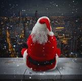 Suggestive Christmas city Stock Photo