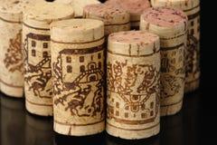 Sugheri 1 del vino Immagini Stock Libere da Diritti