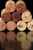 Sugheri 3 del vino Immagine Stock