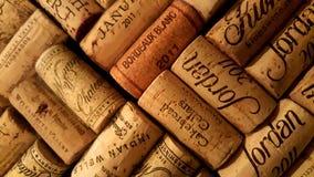 2011 sugheri d'annata del vino Fotografia Stock Libera da Diritti