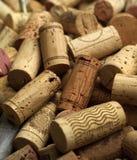 Sugheri del vino Immagine Stock