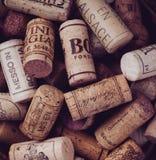 Sugheri del vino Fotografia Stock Libera da Diritti