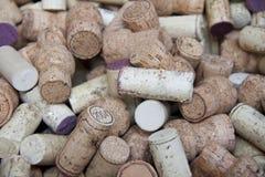 Sugheri della bottiglia Fotografia Stock Libera da Diritti