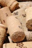 Sugheri della bottiglia di vino. Immagini Stock Libere da Diritti