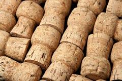Sugheri di Champagne Fotografia Stock Libera da Diritti