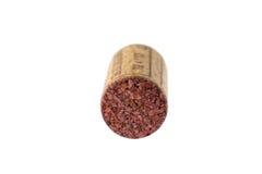 Sughero del vino Fotografia Stock