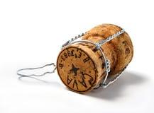 Sughero di Champagne Fotografie Stock Libere da Diritti