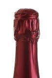 Sughero di una bottiglia del champage Immagine Stock