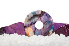 Sugilite or the Healers Stone Royalty Free Stock Photo