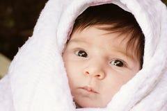 Säuglingsgesicht Lizenzfreie Stockfotos