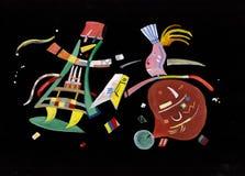Sui motivi di Kandinsky illustrazione di stock